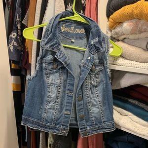 Jackets & Blazers - Jean Vest 🎀2 for $15🎀